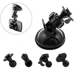 Arassuo Dash Cam Mirror Mount with 4 Different Joints Kit Su