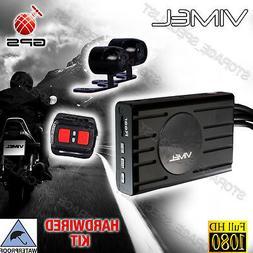 Dual Bike Camera Motorcycle GPS 1080 Twin Car Waterproof Har