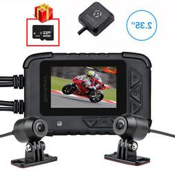 Blueskysea DV688 1080P Motorcycle Dash Cam DVR Camera With G