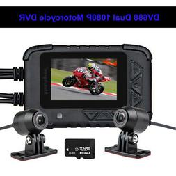 Blueskysea DV688 HD 1080P Motorcycle Dash Cam DVR Camera Vid
