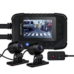 Blueskysea DV688 Motorcycle Dash Cam with GPS Module 1080p D
