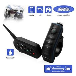 EJEAS E6 Plus BT Motorcycle Helmet Intercom 1200M Communicat