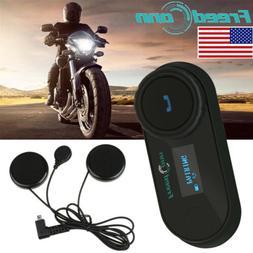 T-COMSC 800M Interphone Motorcycle Helmet Motorbike Headset