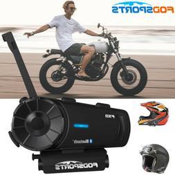 FX8 2000M Motorcycle Intercom Bluetooth Helmet Interphone FM