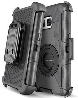 Galaxy S7 Case, S7 Case, BENTOBEN 4in1 Hybrid Shockproof Hea