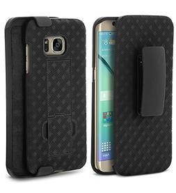 Galaxy S7 Edge Case , Aduro Shell & Holster Combo Case Super