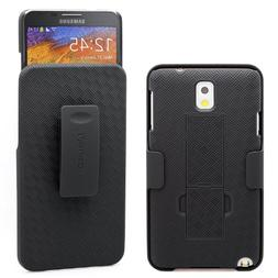 Galaxy Note 3 Case, Aduro COMBO Shell & Holster Case Super S