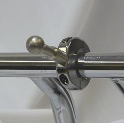 """Motorcycle GPS Ball Mount 17mm, 1-1.25"""" Handlebar"""