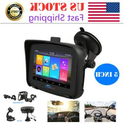 GPS for Motorcycle  Andriod 6.0 Navigator 5.0 Touch Car Navi