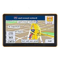 GPS Navigation for Car, Car GPS Navigation System,7 Inch Tou