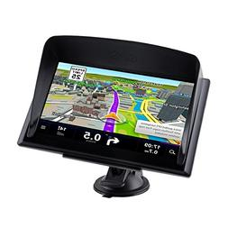 CARMATE GPS Navigation for Truck and Car with Bluetooth 7-In