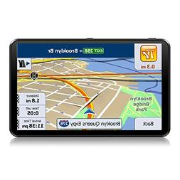GPS Navigation for Car, 7 inch Touchscreen,Lifetime Map Upda
