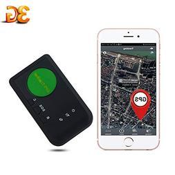 AUENLIPHTO 3G GPS Tracker Vehicle Kids Elders Real-time Port