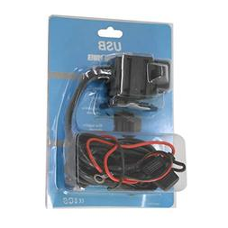 Liobaba HBX5 12V~24V Dual USB Motorcycle Charger Waterproof