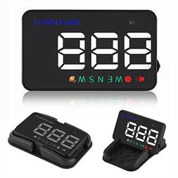 Heads up Display Cars Universal GPS Speedometer 3.5 inch HUD