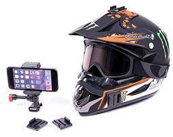 helmet dash iphone holder