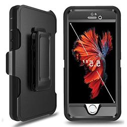 iPhone 6 Plus Defender Case, iPhone 6s Plus Defender Case wi
