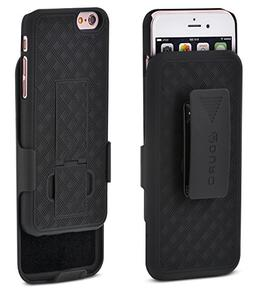 iPhone 6S/6 Case, Aduro COMBO Shell & Holster Case Super Sli