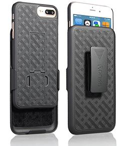 iPhone 8 Plus/iPhone 7 Plus Holster Case, Aduro COMBO Shell