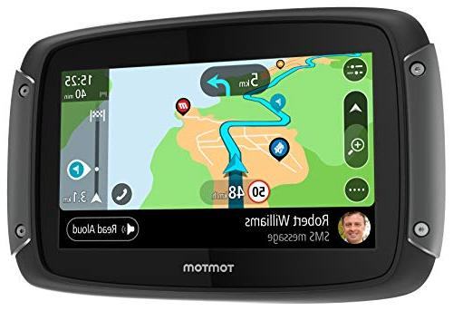 TomTom 1GF0.047.00 550 Motorcycle Navigation Device with and Free Map Updates America,