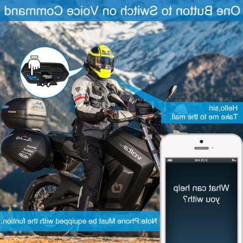 2000M Motorcycle Helmet Headset GPS Radio New
