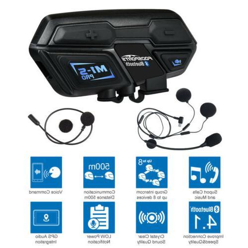 2000M Bluetooth Motorcycle GPS Radio New