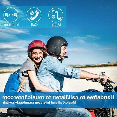 Motorcycle Intercom Bluetooth Helmet Headset GPS