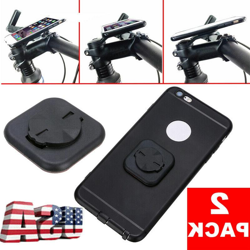 2pcs bike stem phone stick adapter holder