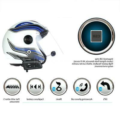 2pcs Helmet GPS Headset