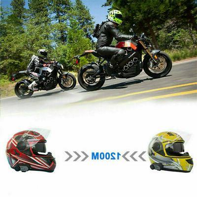 1200m Motorcycle Intercom Talkie 6 GPS