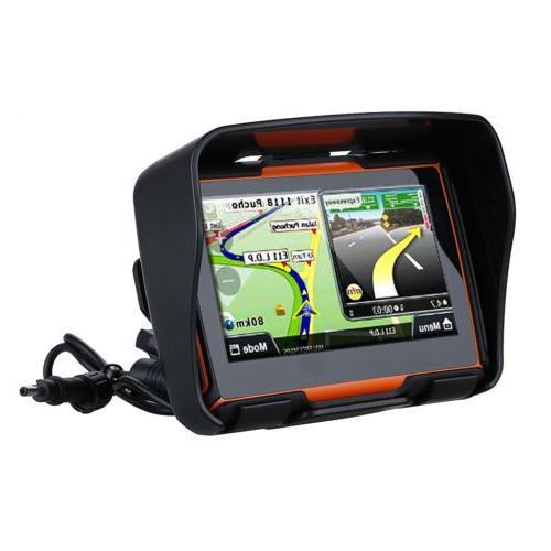 "4.3"" Motorcycle Navigation Waterproof Touch Screen+Maps"