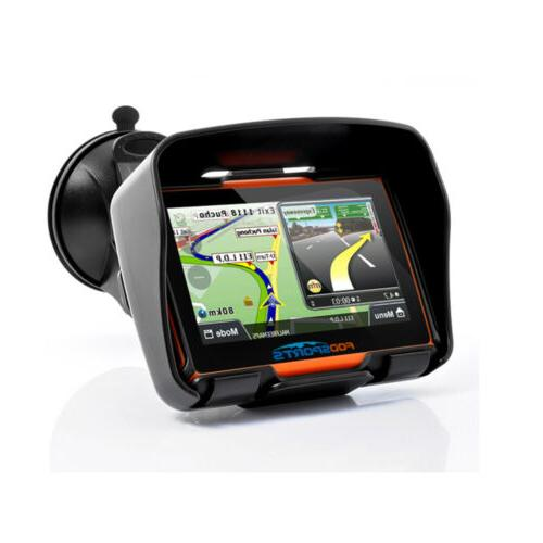 "4.3"" GPS Navigation 8GB Touch Screen+Maps"