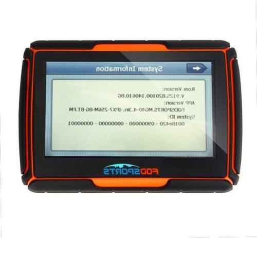 "4.3"" BT Bluetooth GPS Motorcycle Car Navigation +NA maps"