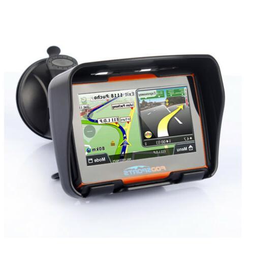"4.3"" BT GPS Car Navigation 8GB +NA maps"