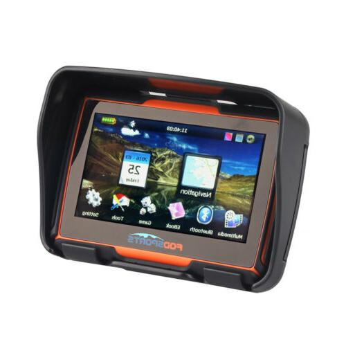 8GB GPS Navigation Motorcycle Car SAT NAV Maps US