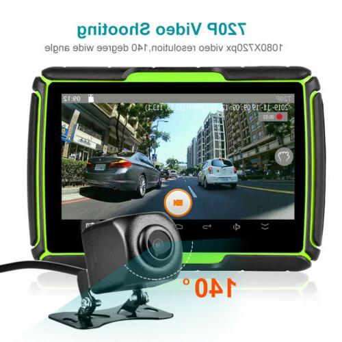 "4.3"" Motorcycle GPS Navigation 8G Latest Android WiFi Navigator Camera"