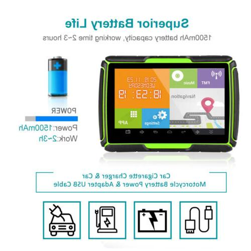 4.3 GPS Android WiFi Car Sat Green
