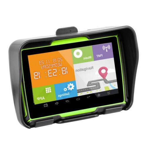 4.3 inch GPS WiFi Car Bike Sat Green