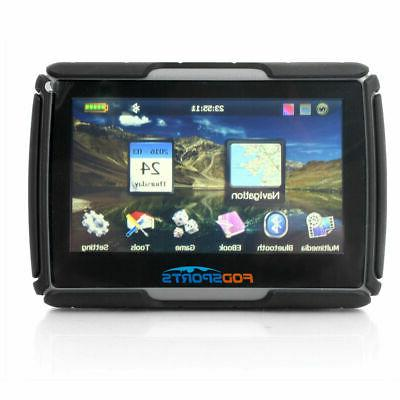4 3 inch car gps motorcycle touch