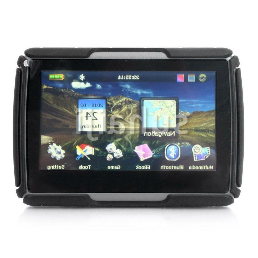 "4.3"" SAT Bluetooth Navigation Waterproof IPX7 256M"