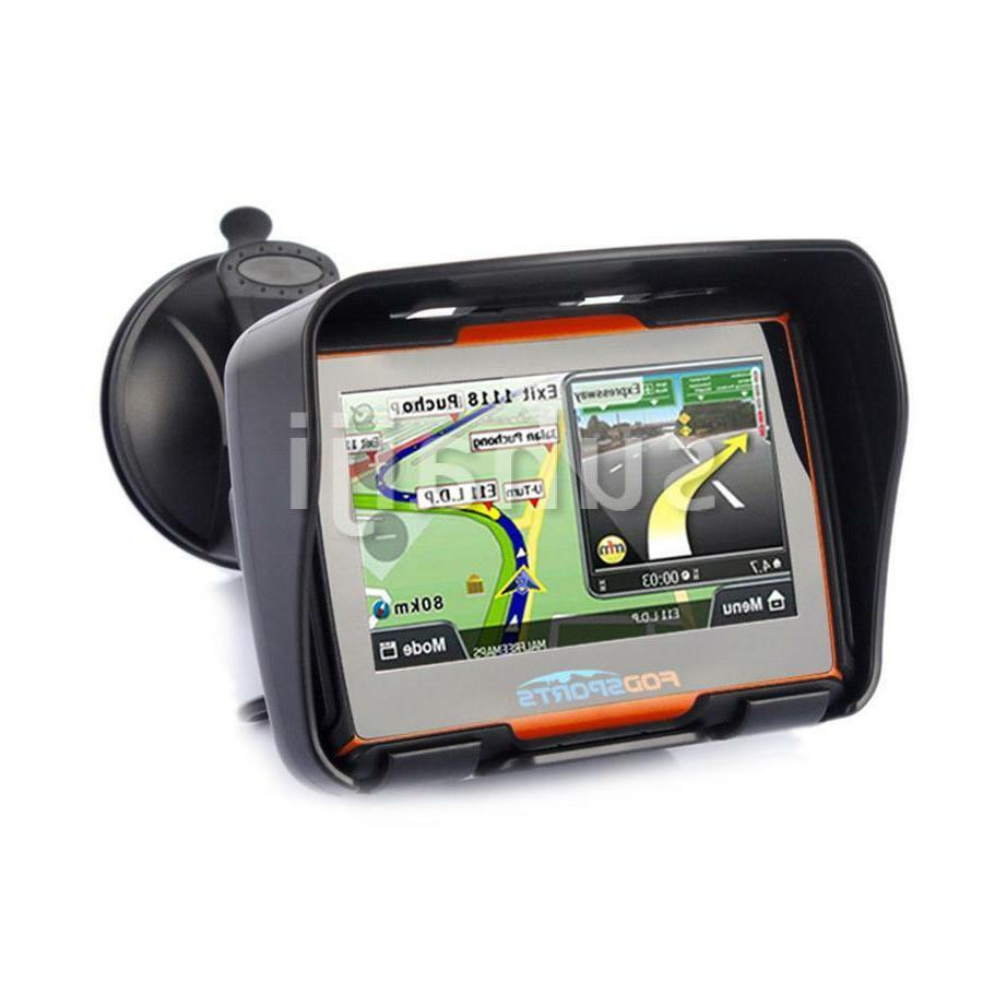 "4.3"" SAT Bluetooth Navigation Waterproof Map 256M"