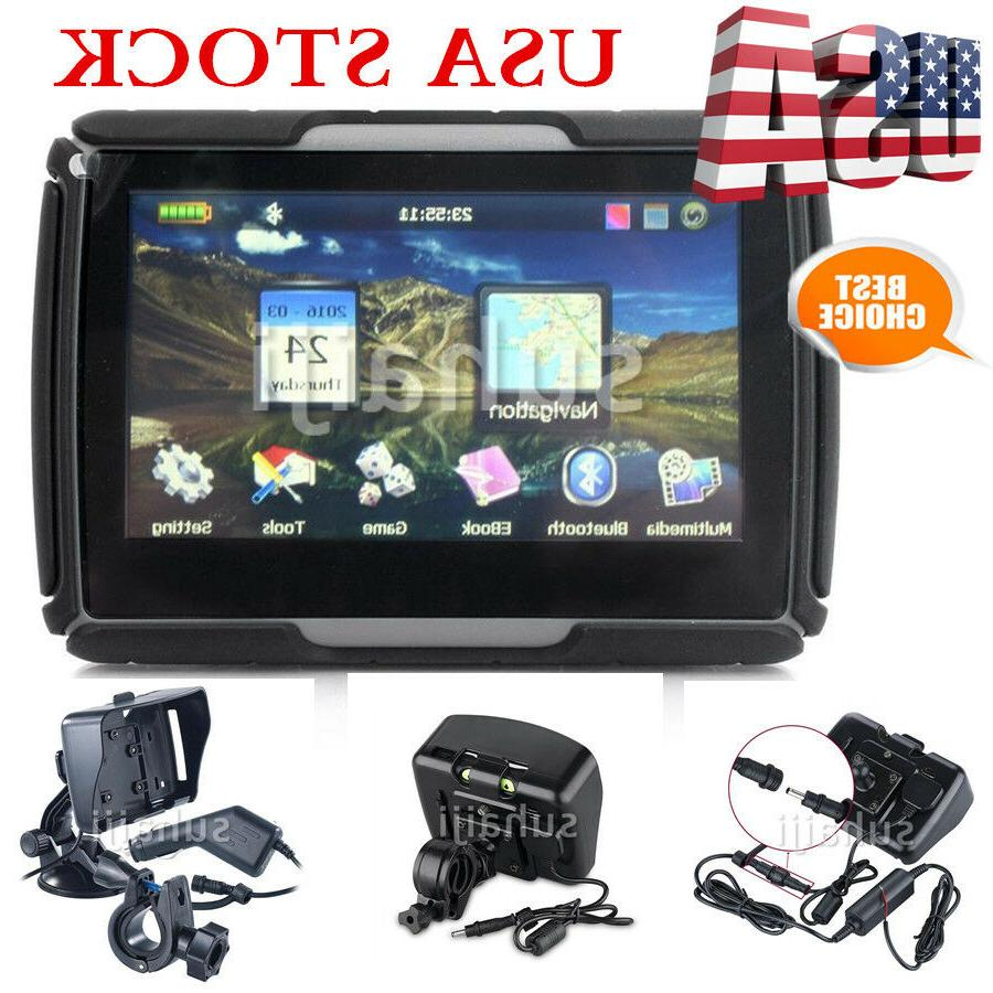 "4.3"" Car Waterproof IPX7 Map 256M"