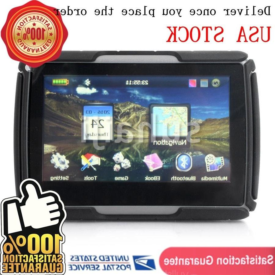 4 3 motorcycle car gps sat nav