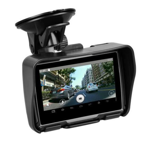 Waterproof GPS Screen Navigator +Camera DVR +Map