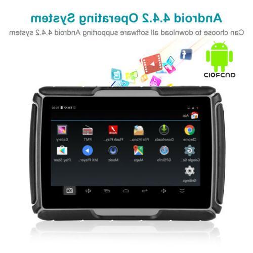 Waterproof GPS Navigation Screen Car +Camera