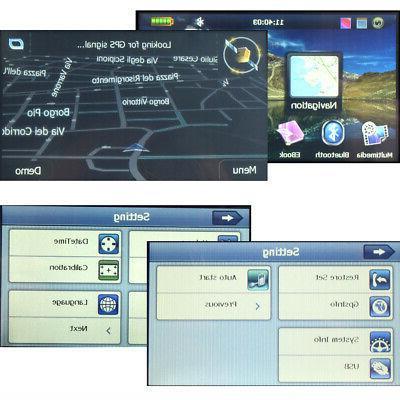 "4.3"" Motorcycle Waterproof Navigation SAT 8GB Win CE Free Maps"