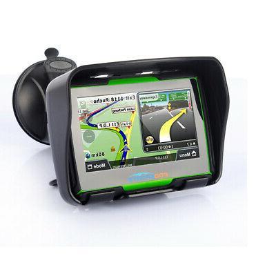 "4.3"" Motorcycle GPS Waterproof 8GB Win Free Maps"
