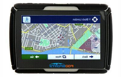 """4.3"""" Motorcycle Waterproof Navigation SAT 8GB Maps"""