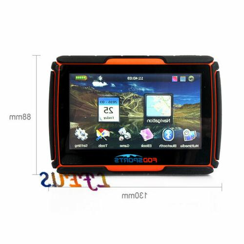 "4.3"" Touch Screen Sat Nav Map Orange"