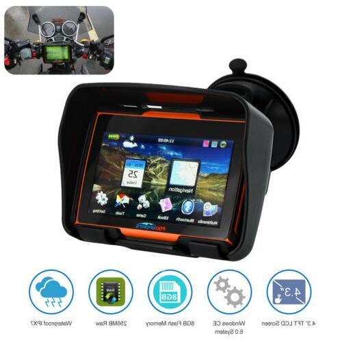 4.3''Touch GPS System Car Navigation Sat Nav 8GB Map